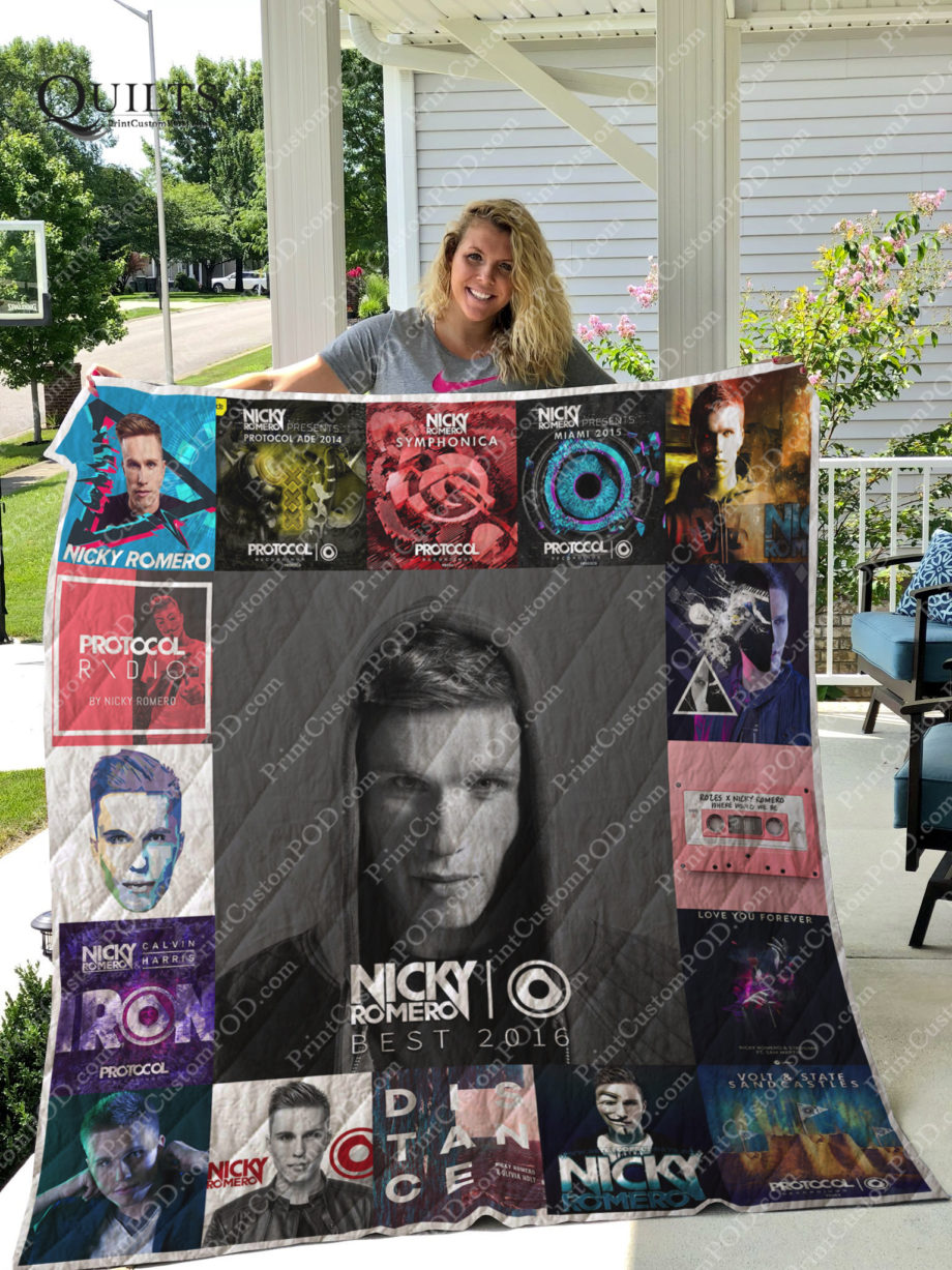 Nicky Romero Albums Quilt Blanket For Fans Ver 17 KP-180
