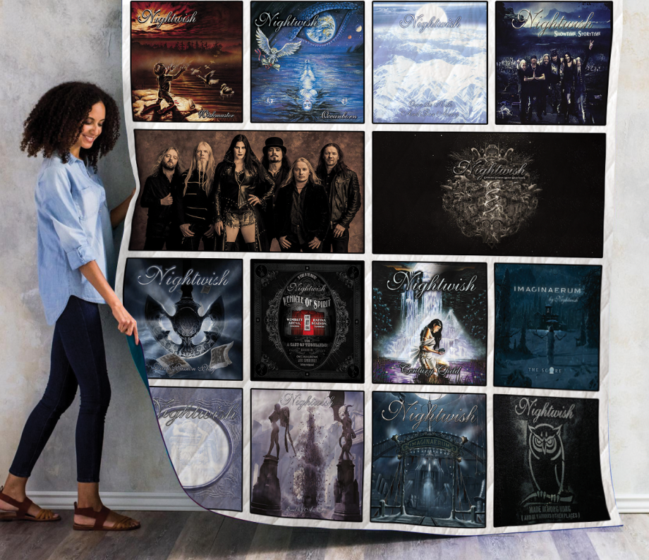 Nightwish Albums Quilt Blanket Ver14