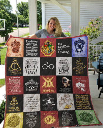 [pe] Harry Potter Quilt Blanket Ver 25 KP-400
