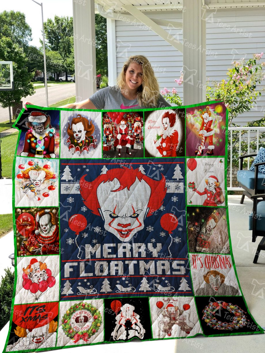 Pennywise Quilt Blanket 01949