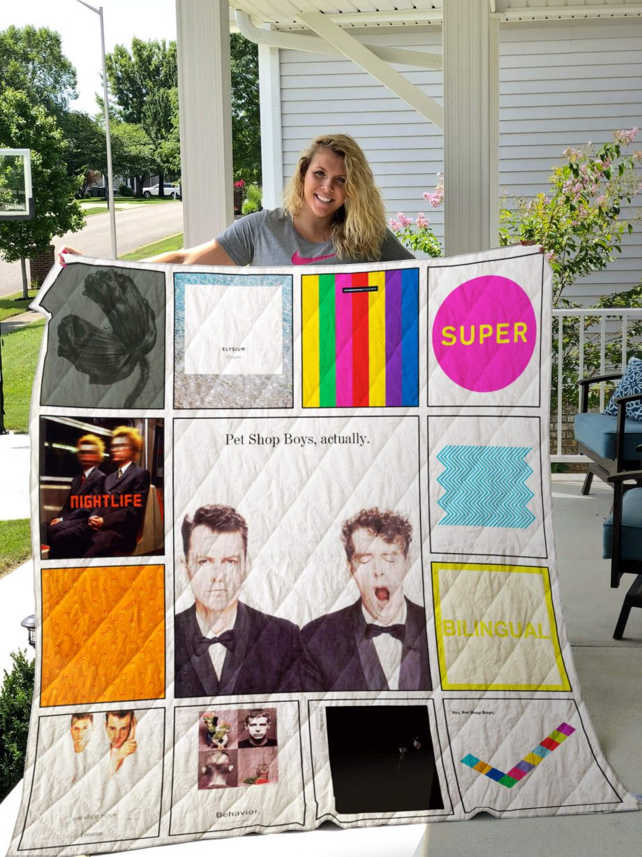 Pet Shop Boys Albums Quilt Blanket Ver13