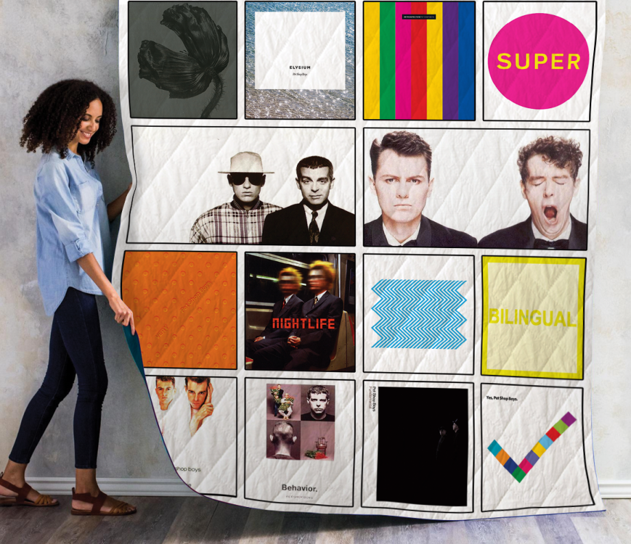 Pet Shop Boys Albums Quilt Blanket Ver14