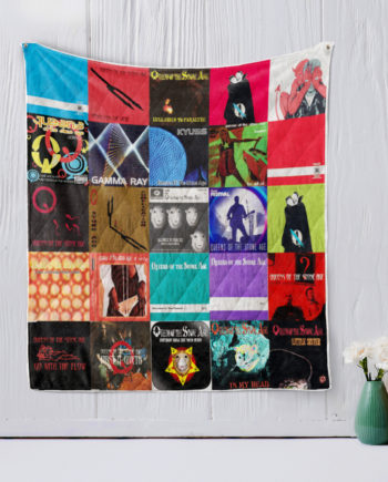 Queens of the Stone Age Quilt Blanket KP-25