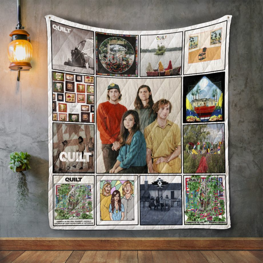 Quilt (band) Album Covers Quilt Blanket