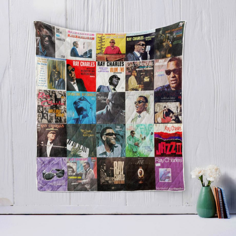 Ray Charles Quilt Blanket