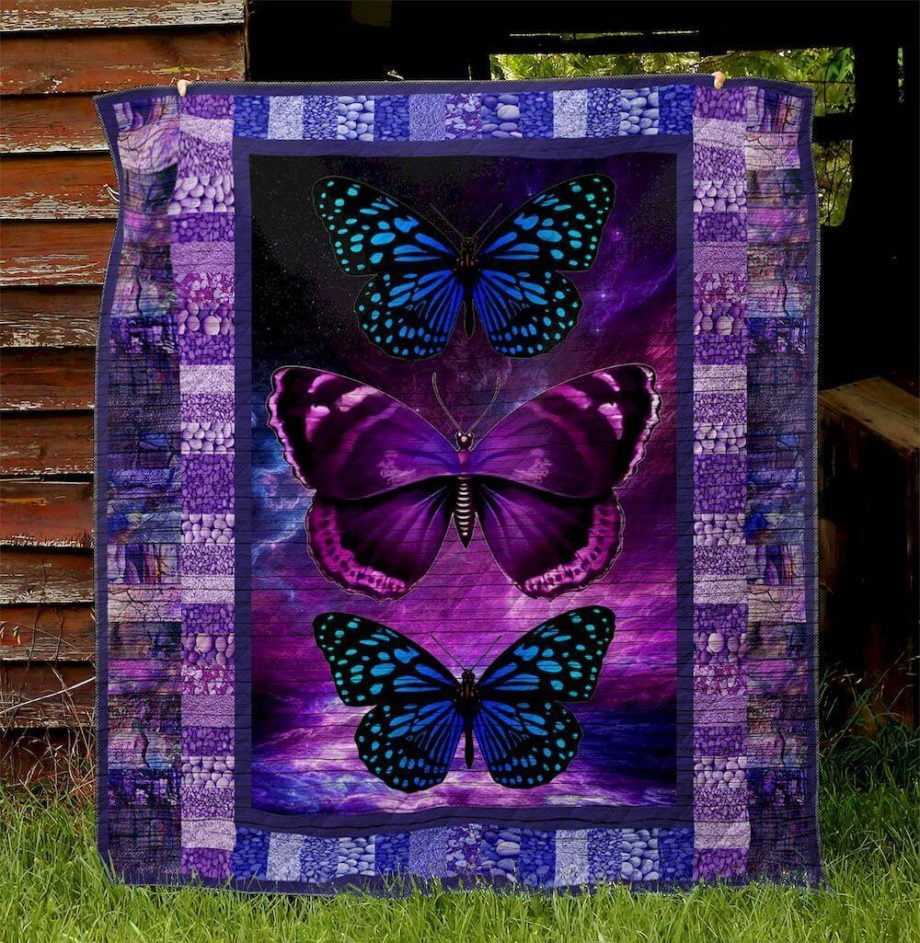 Butterfly Ver10Quilt Blanket Th2506
