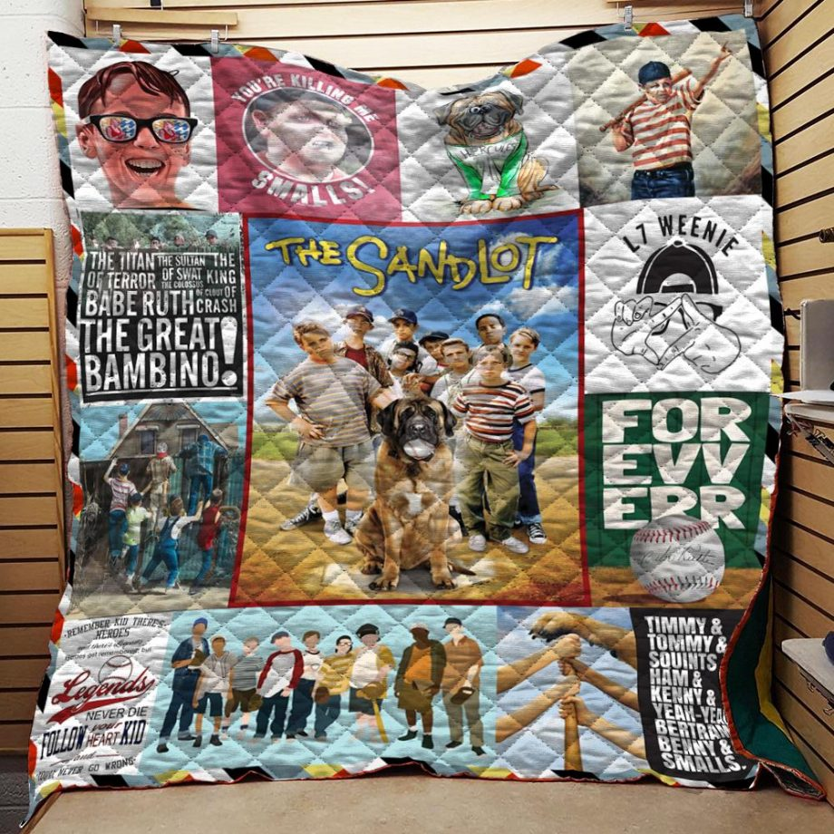 The Sandlot Collage Quilt Quilt Blanket N2906