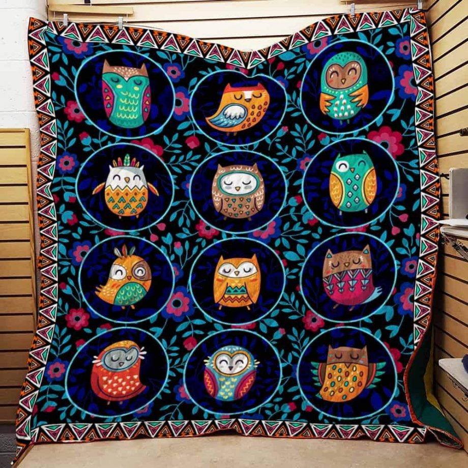 Be The Owl Quilt Blanket KPW2906