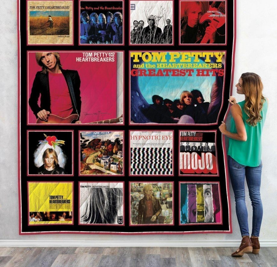 Tom Petty And The Heartbreakers Albums Quilt Blanket New Arrival