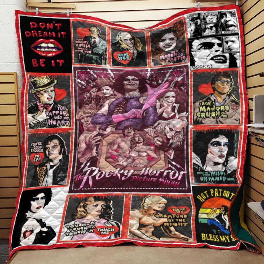 The Rocky Horror Don't Dream It Be It Quilt Blanket N2906