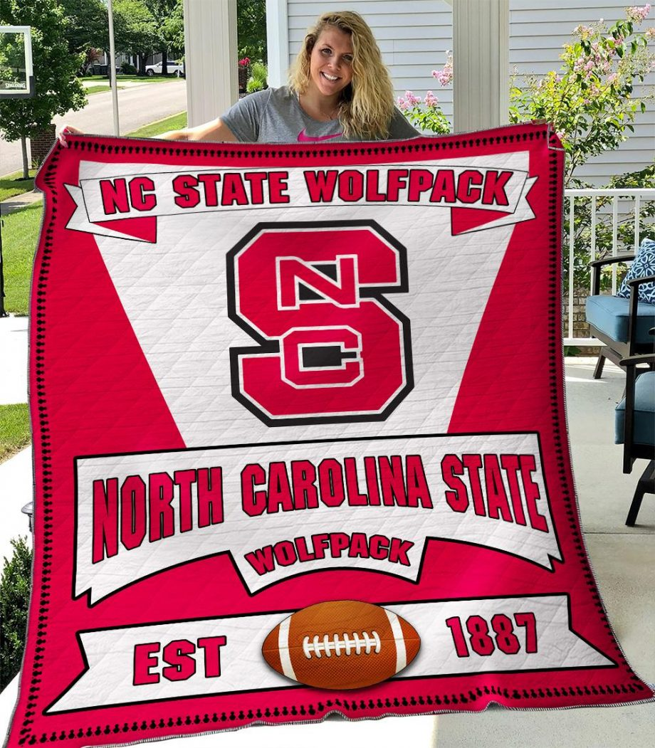 B060638 Quilt Blanket Nc State Wolfpack