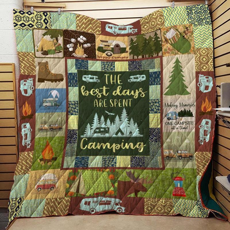 The Best Days Spent Camping Quilt
