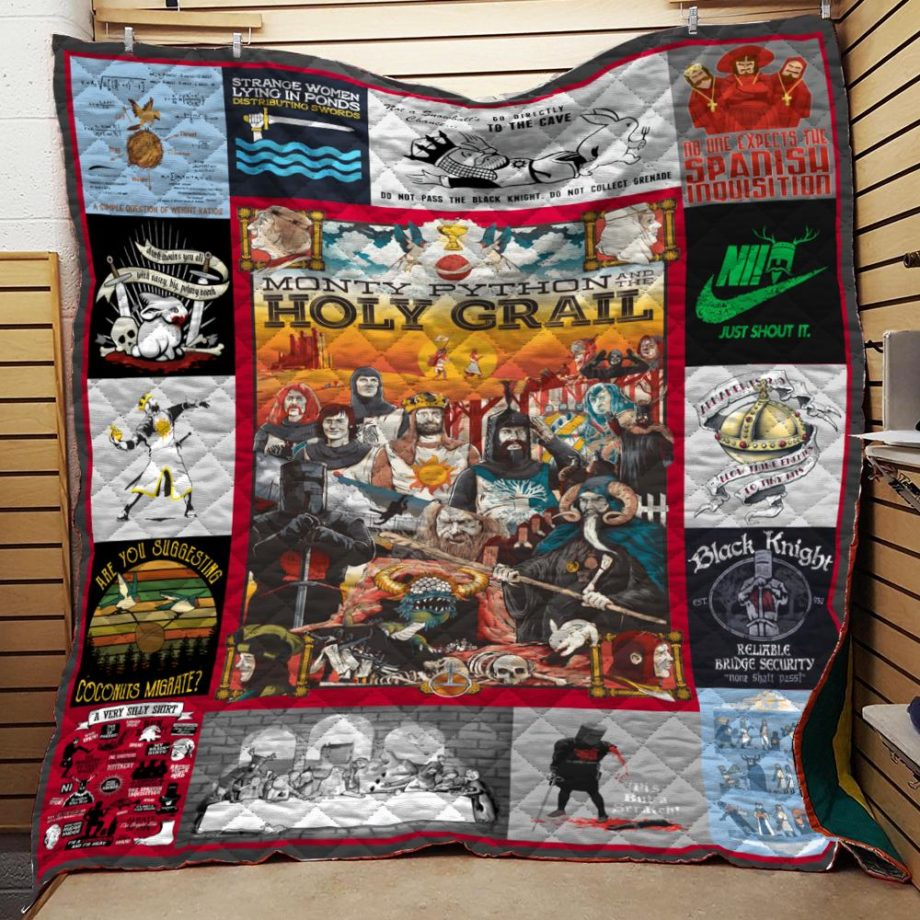 Monty Python and The Holy Grail Quilt Blanket KPW1807