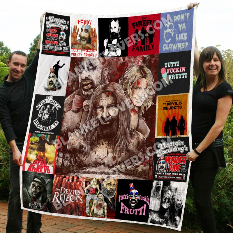 The Devil's Rejects Quilt Blanket KPW1806