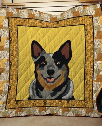 Australian Cattle Dog Quilt Blanket 2