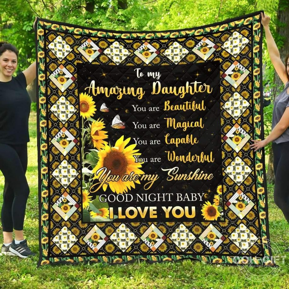 Quilt Daughter To My Amazing Daughter