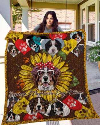 Bernese Mountain Dog 14 Quilt Blanket KPW10072019