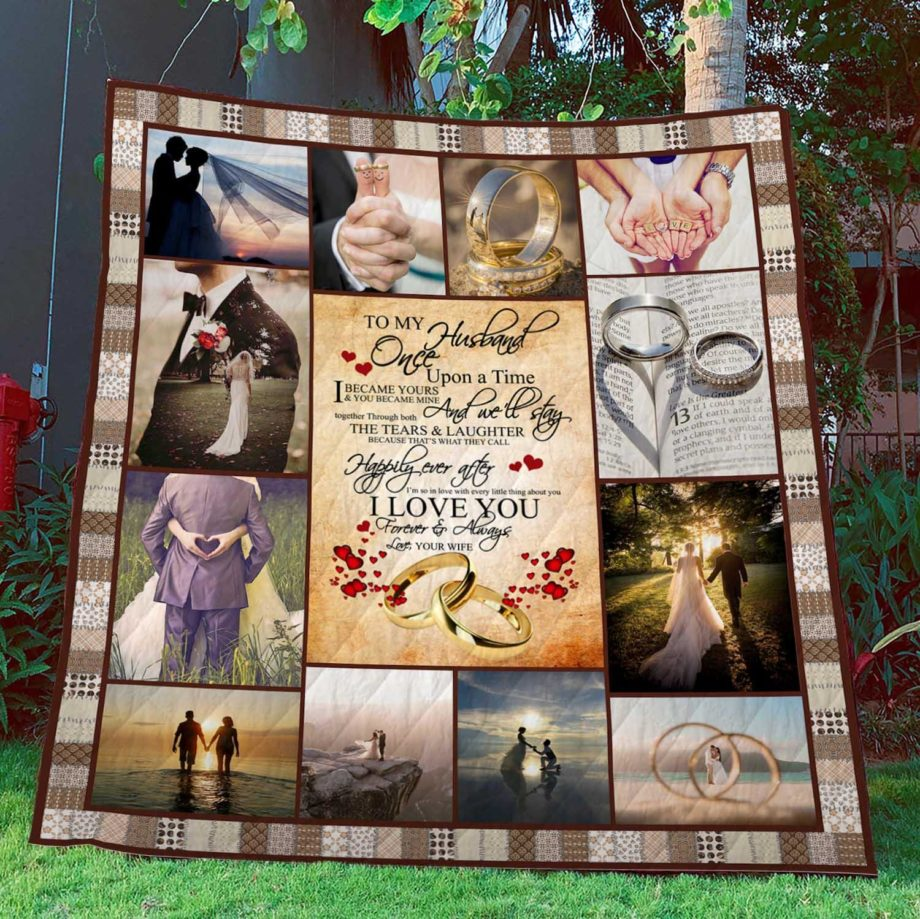 To My Husband  Quilt  KWP0012