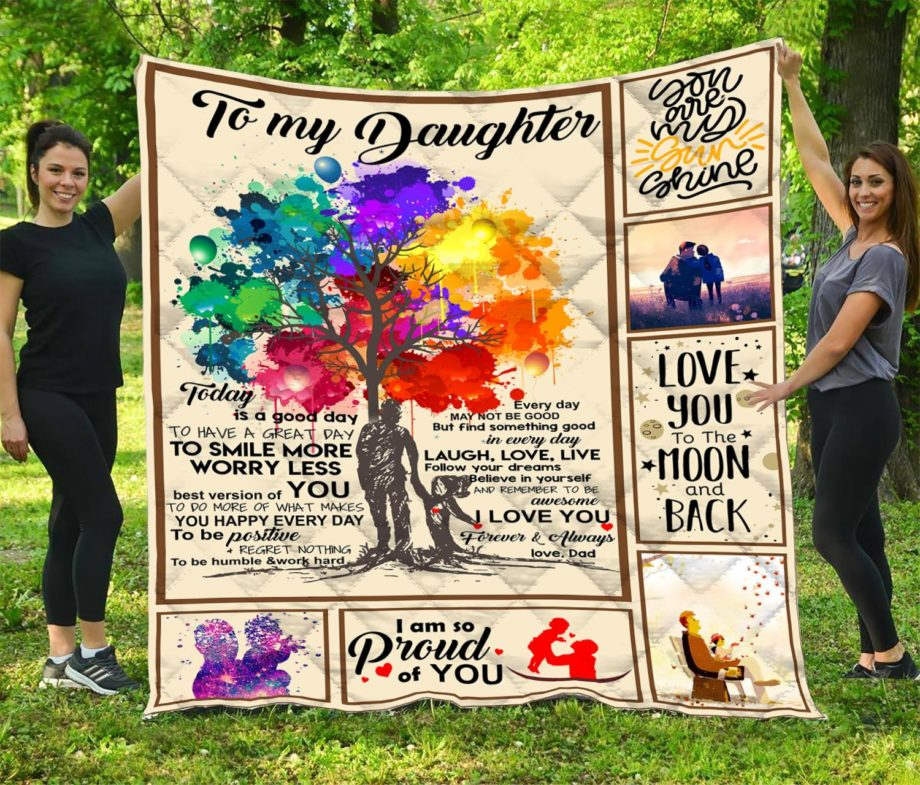 To My Daughter  Quilt  Vr3