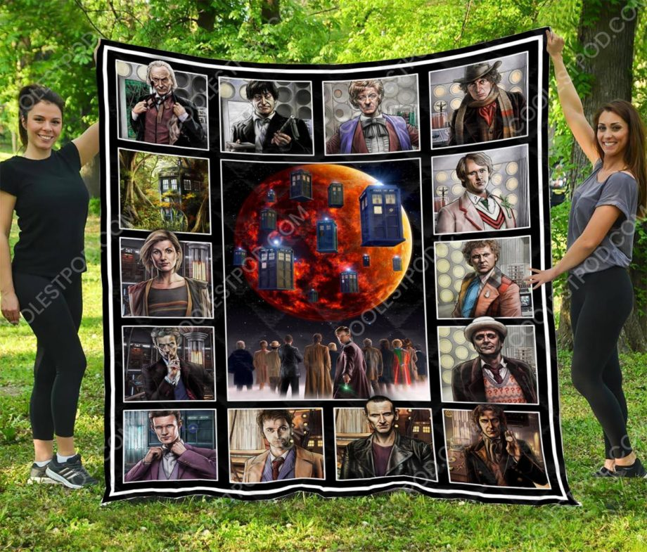 Doctor Who Vr1  Quilt