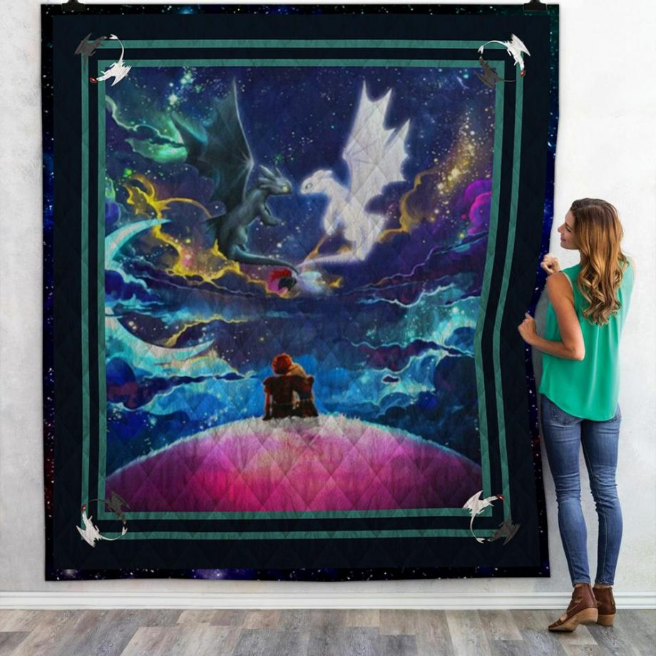 Toothless amp Light Fury 4 Quilt
