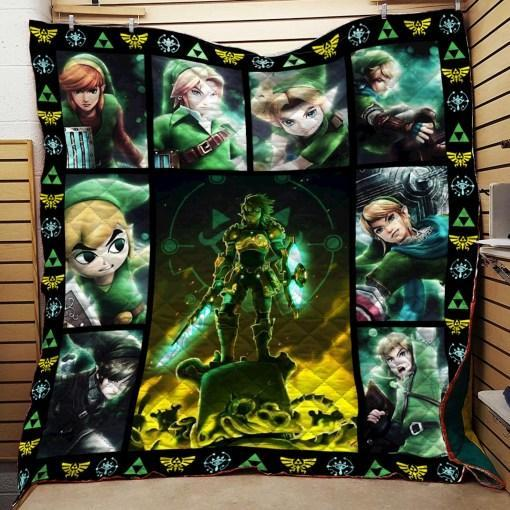 Zelda For Fans Quilt Blanket KPW0907