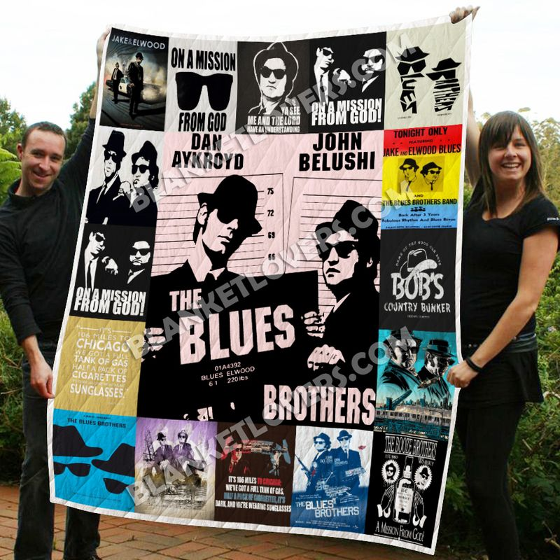 The Blues Brothers Quilt Blanket N1506