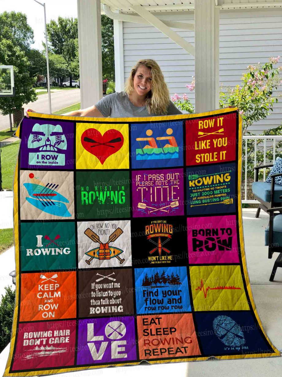 ROWING Quilt Blanket 01