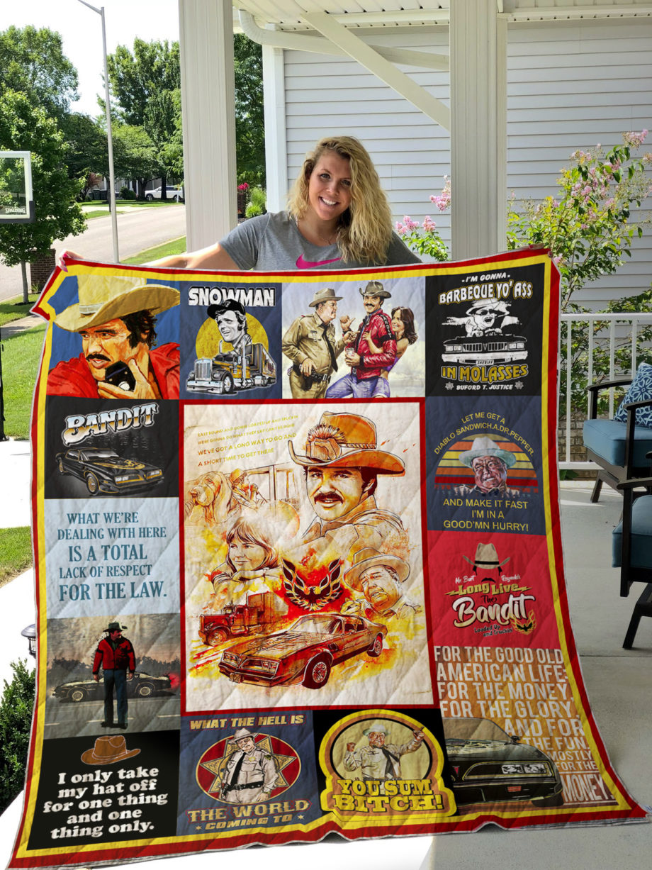 Smokey and The Bandit Quilt Blanket KPW1807