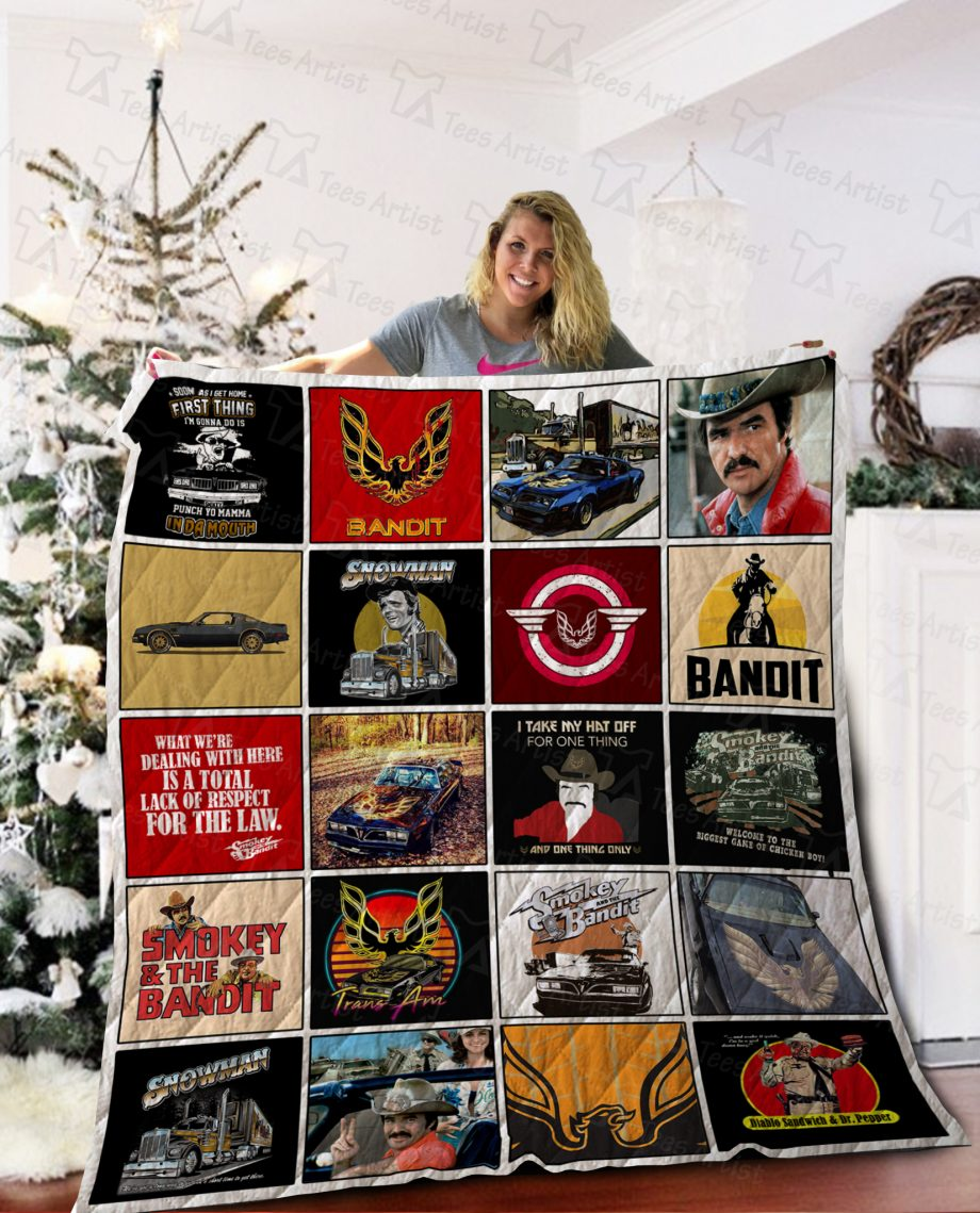Smokey And the Bandits Quilt Blanket 02135