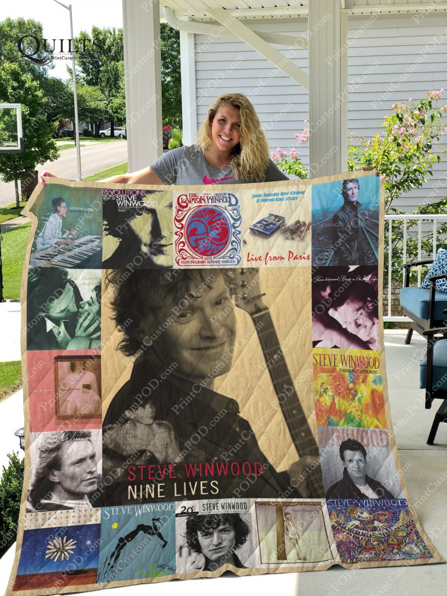 Steve Winwood Albums Quilt Blanket For Fans Ver 17
