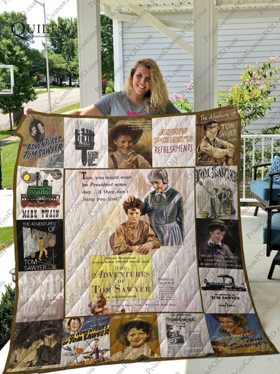 The Adventures of Tom Sawyer Quilt