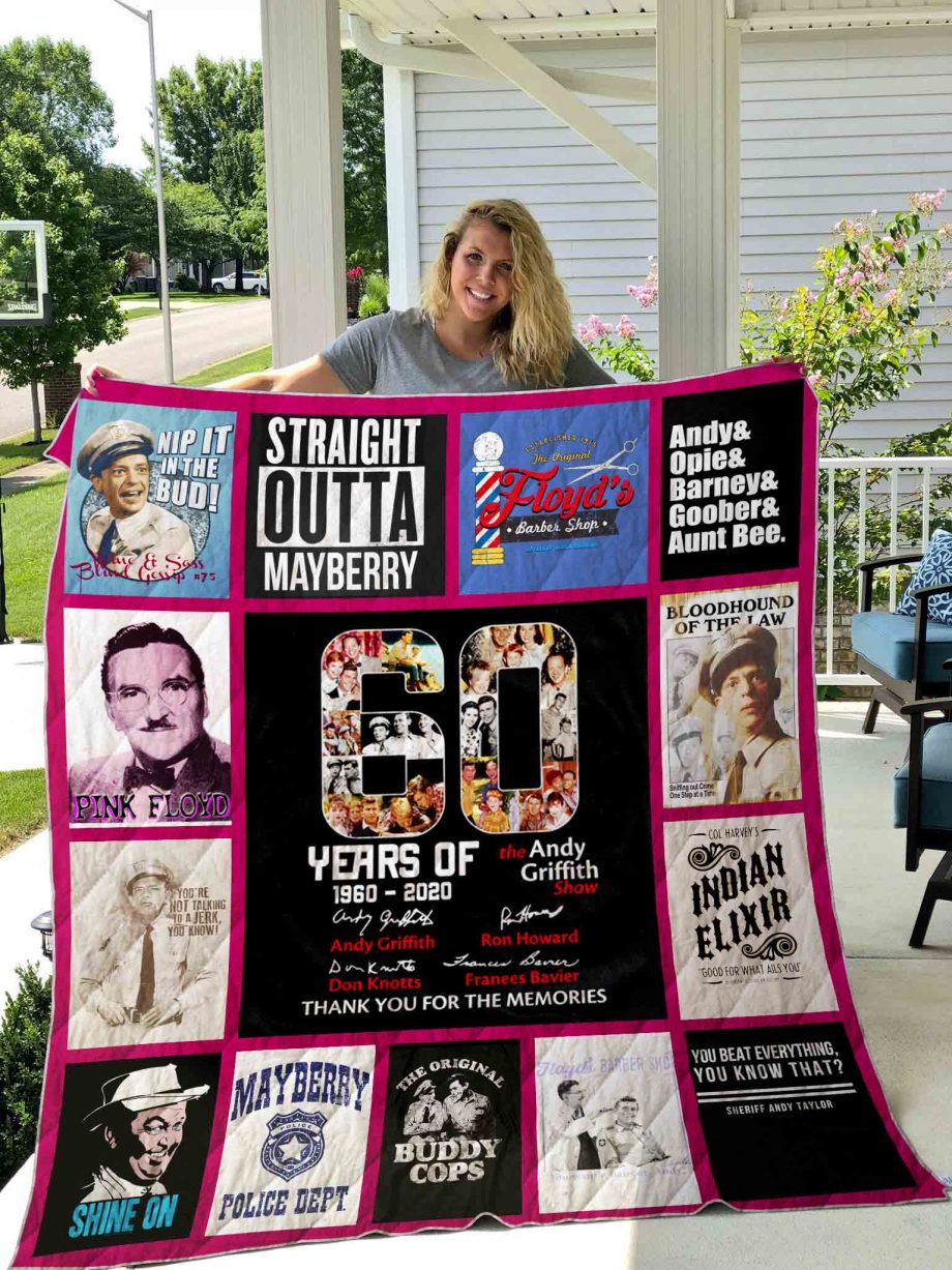 The Andy Griffith Show Quilt Blanket 01
