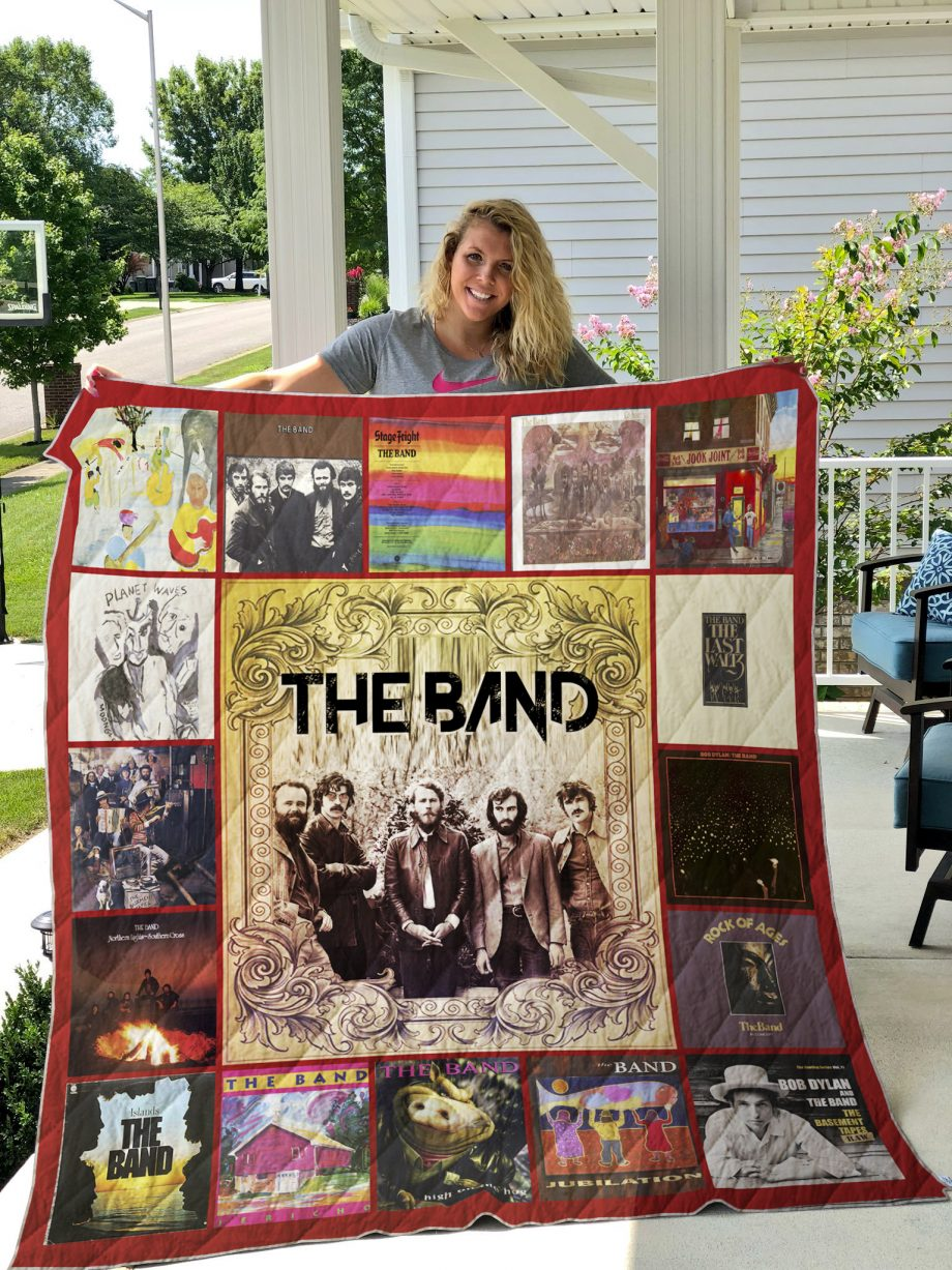 The Band Style 2 Quilt Blanket
