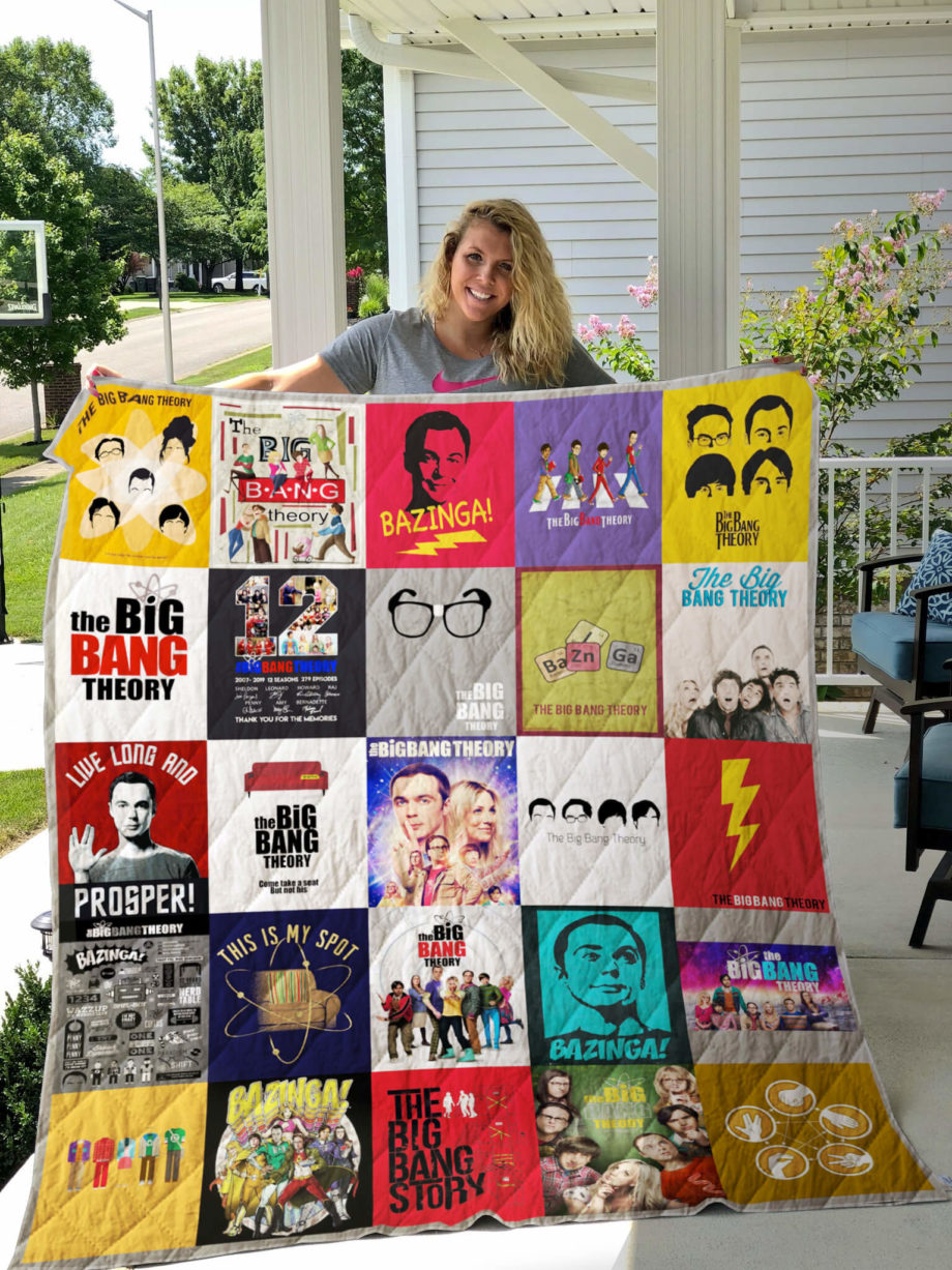 The Big Bang Theory Quilt Blanket
