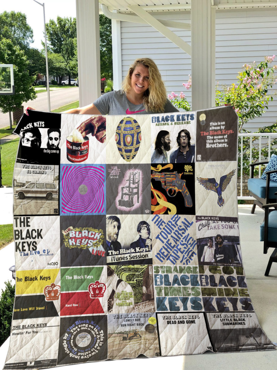 The Black Keys Quilt Blanket