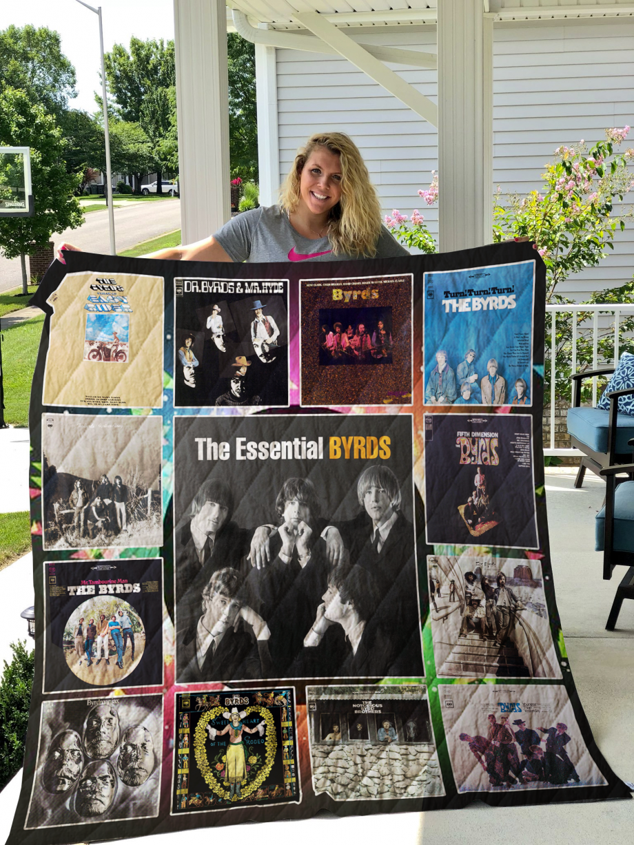 The Byrds Albums Quilt Blanket For Fans New
