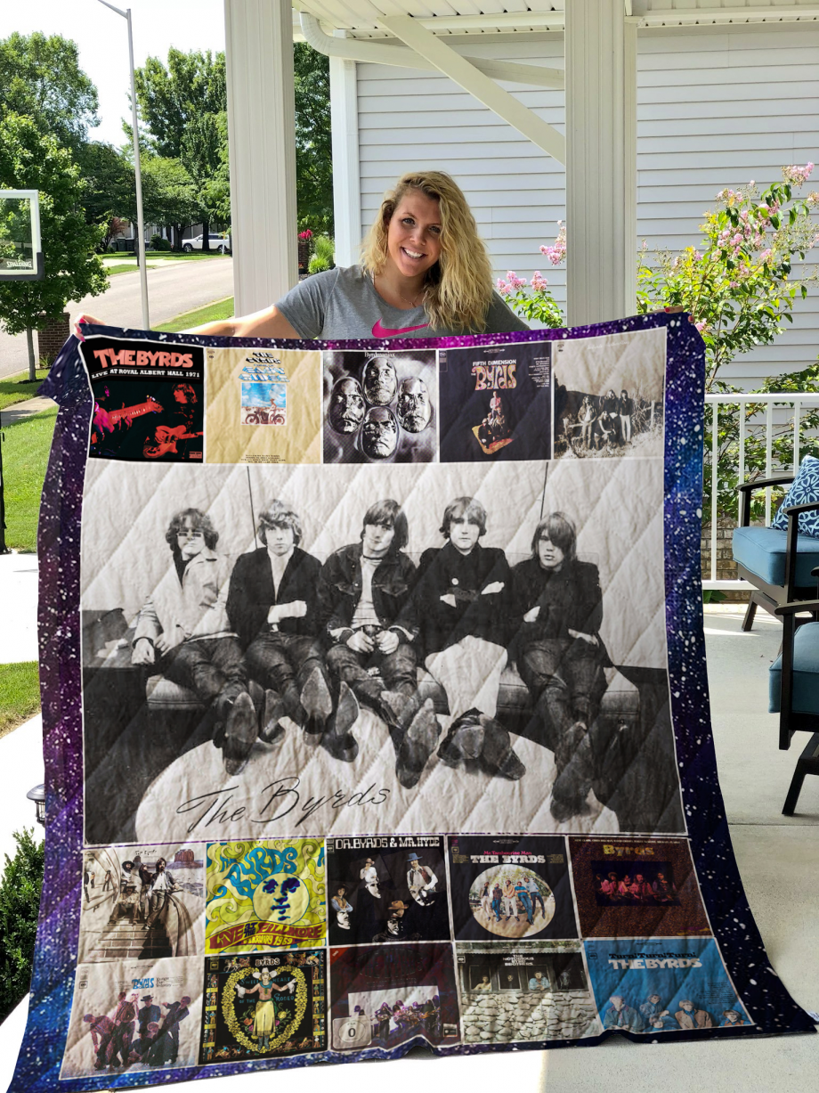 The Byrds Quilt Blanket New Arrival