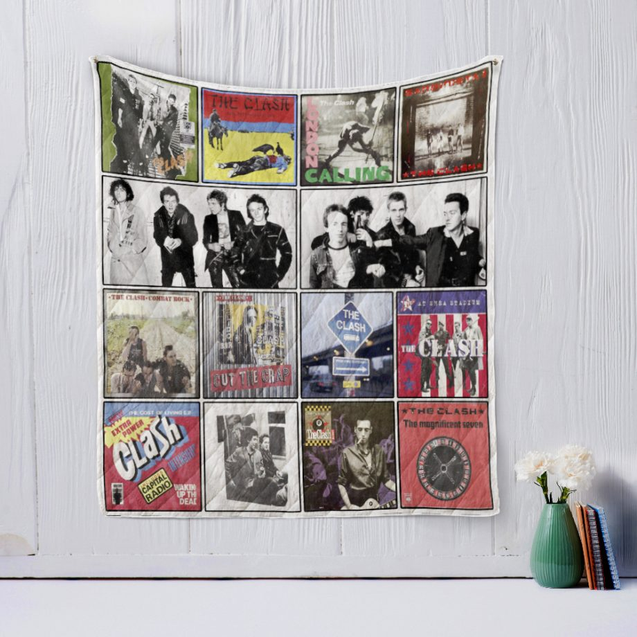 The Clash 2 Quilt Blanket