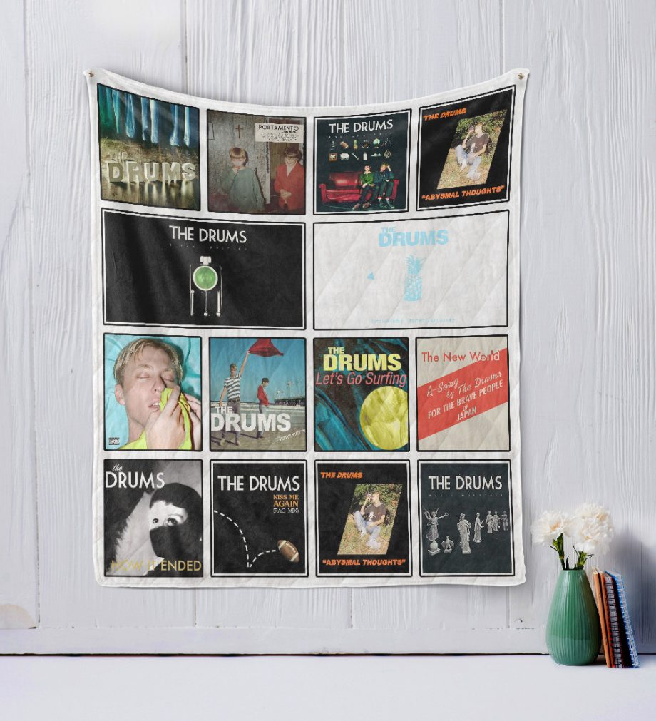 The Drums Quilt Blanket