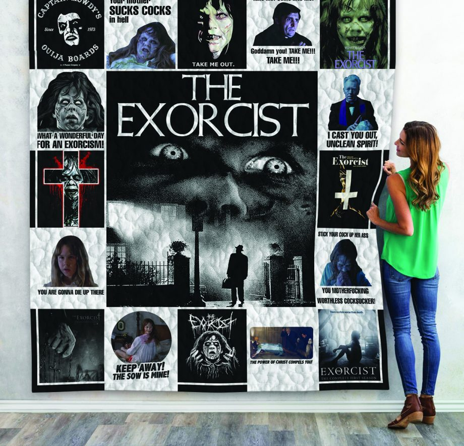 The Exorcist Poster Quilt