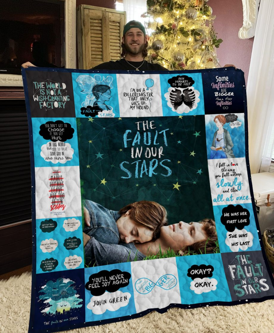 The Fault In Our Stars Poster Quilt Ver 2