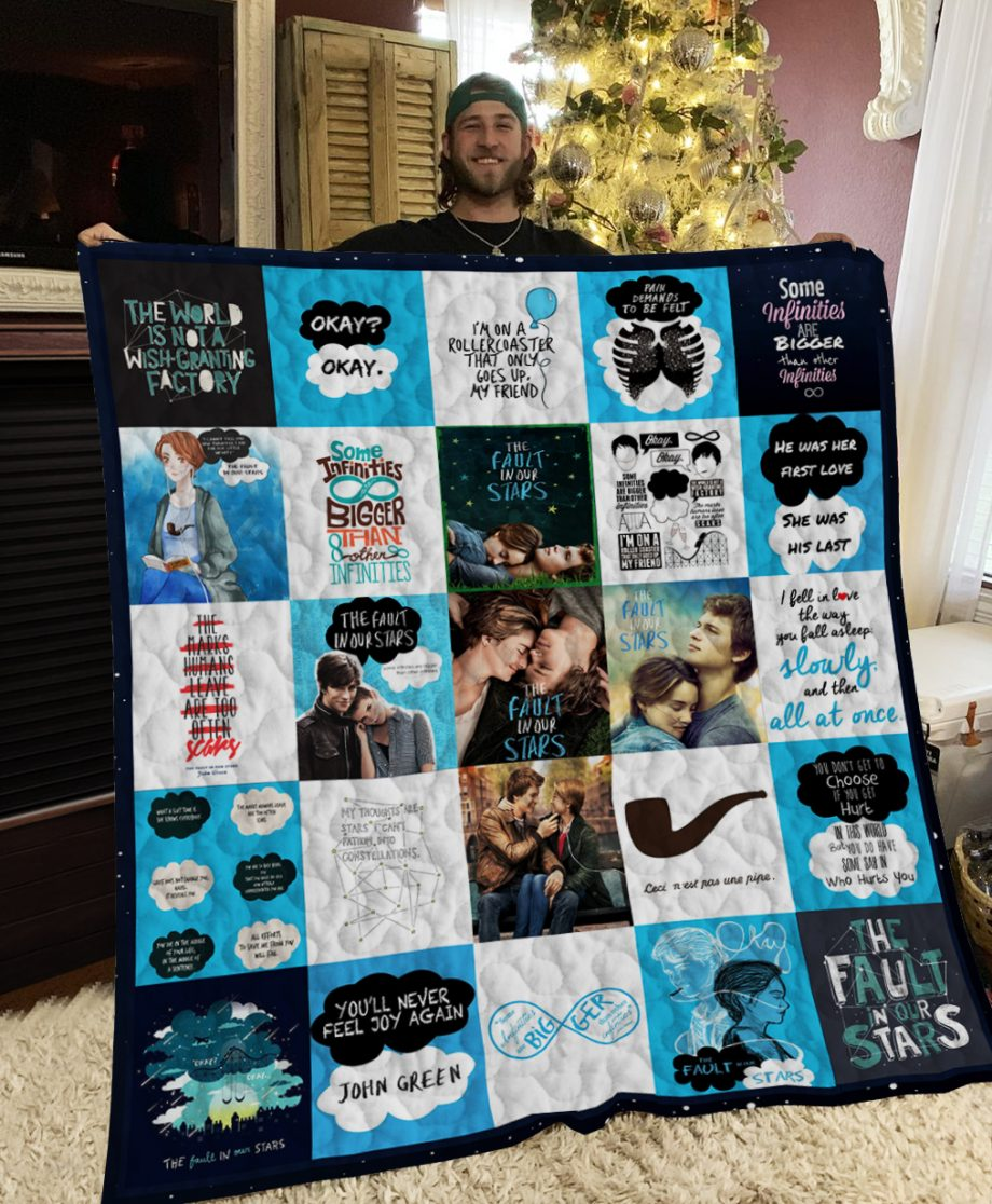 The Fault In Our Stars Poster Quilt Ver 3