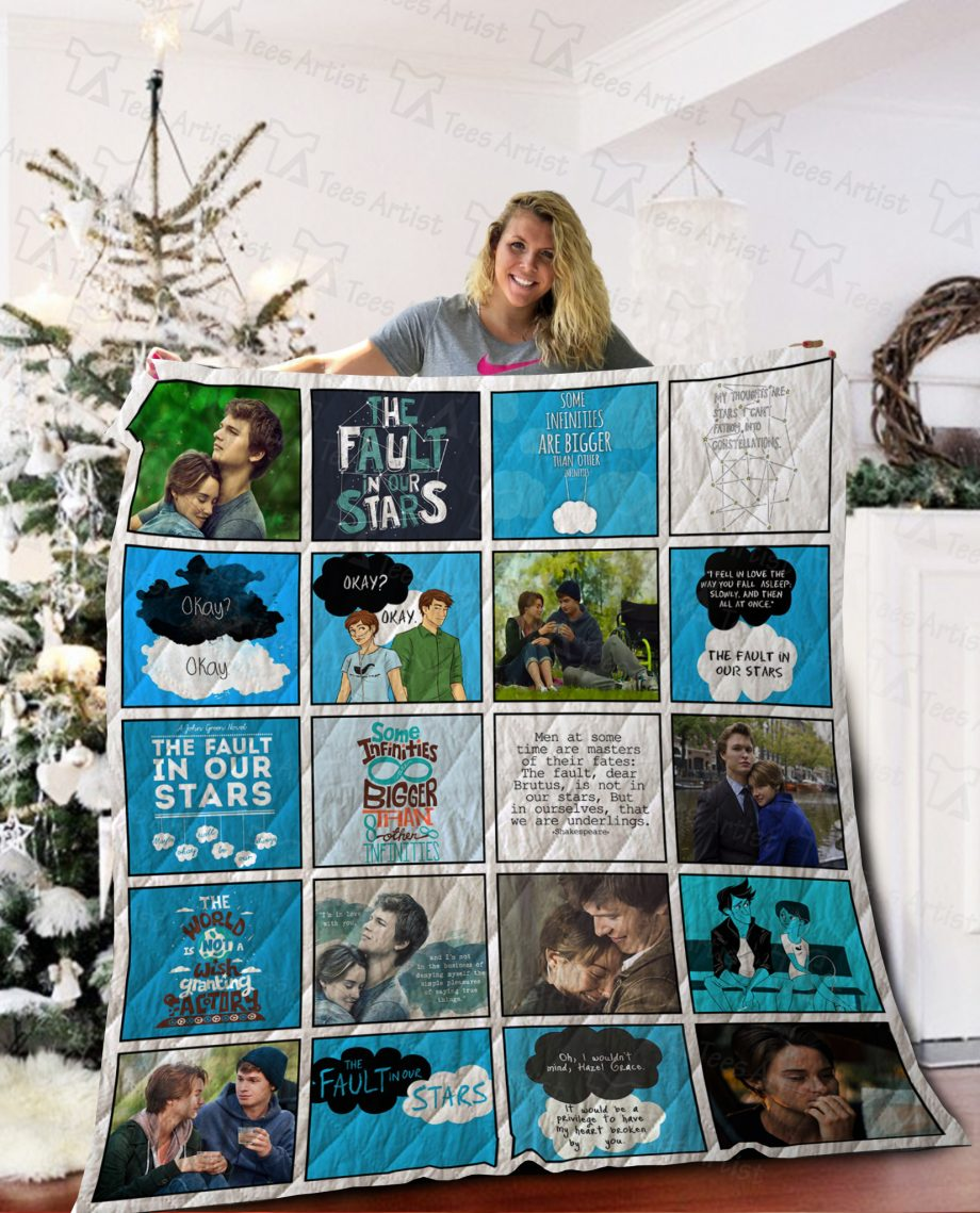 The Fault In Our Stars Quilt Blanket 02125