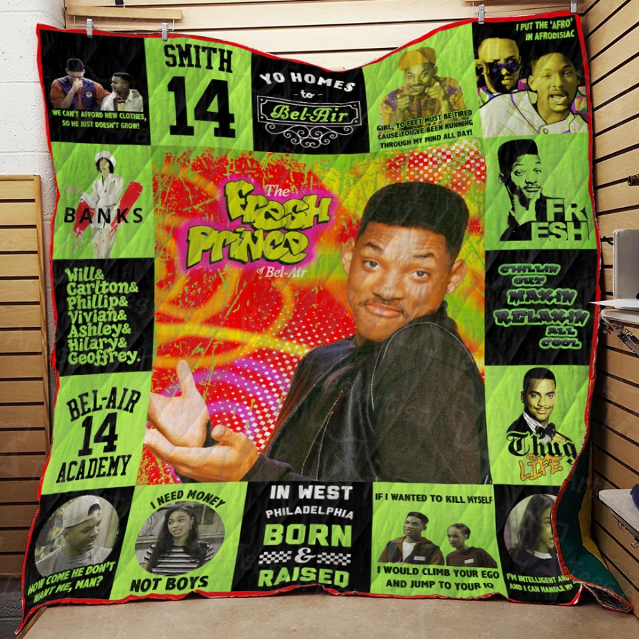 The Fresh Prince of BelAir Quilt Blanket 01884