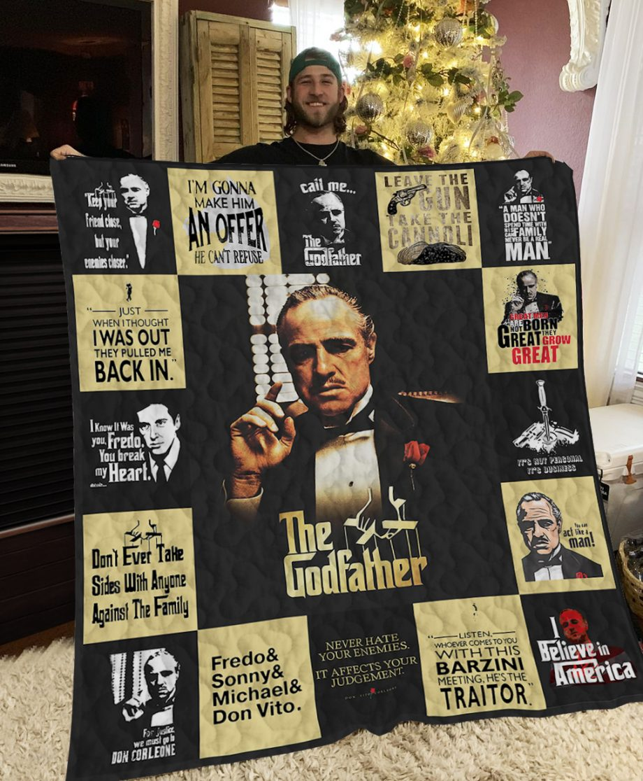 The Godfather Poster Quilt