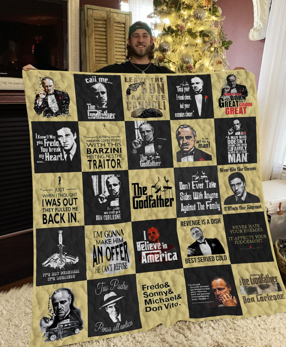 The Godfather Poster Quilt Ver 2