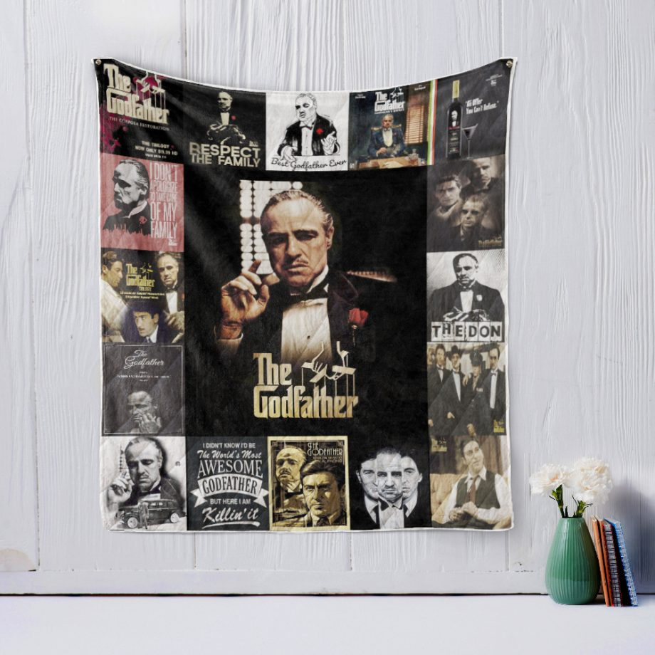 The godfather Quilt Blanket