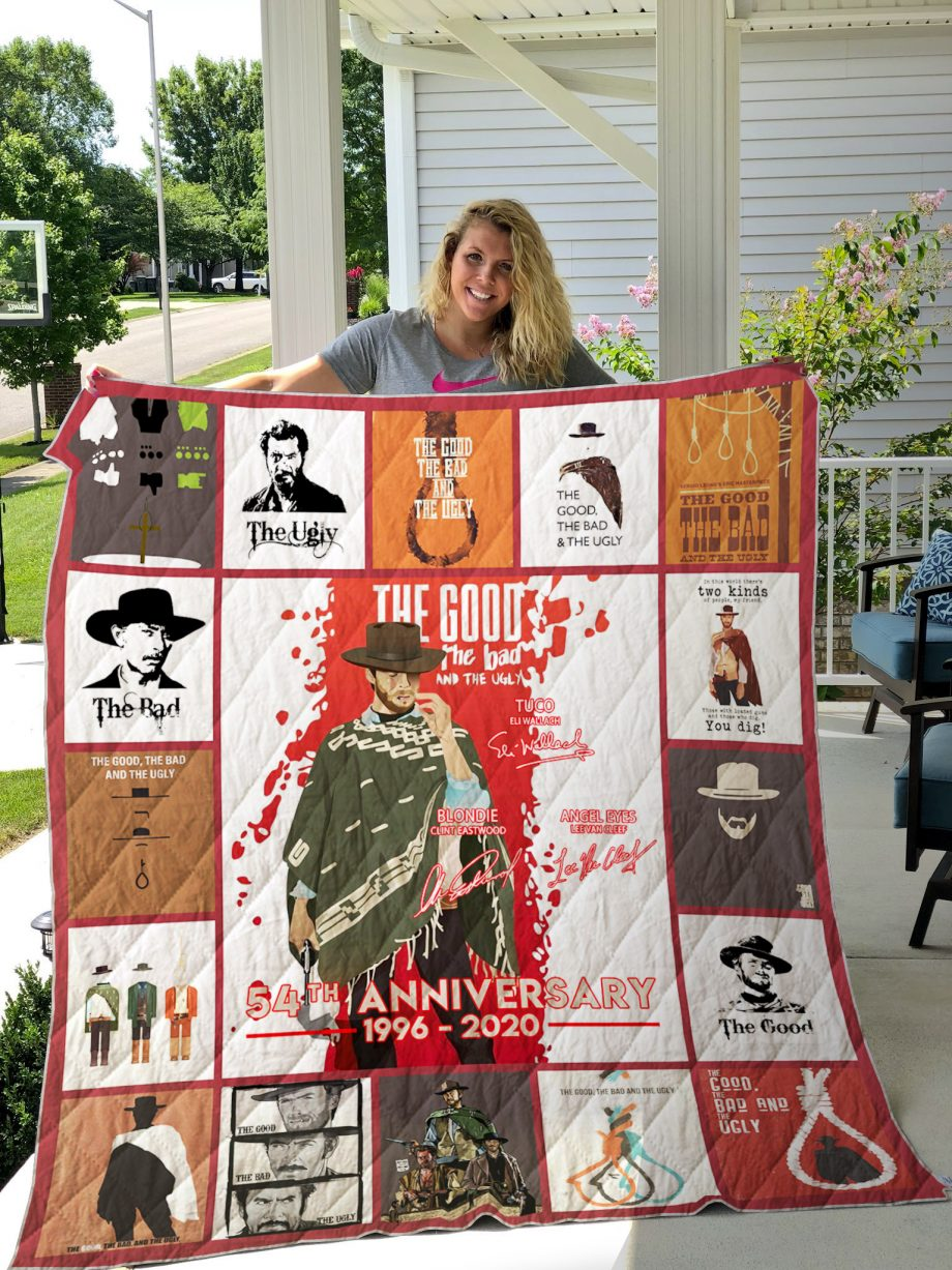 The Good, the Bad and the Ugly Poster Quilt Ver 2