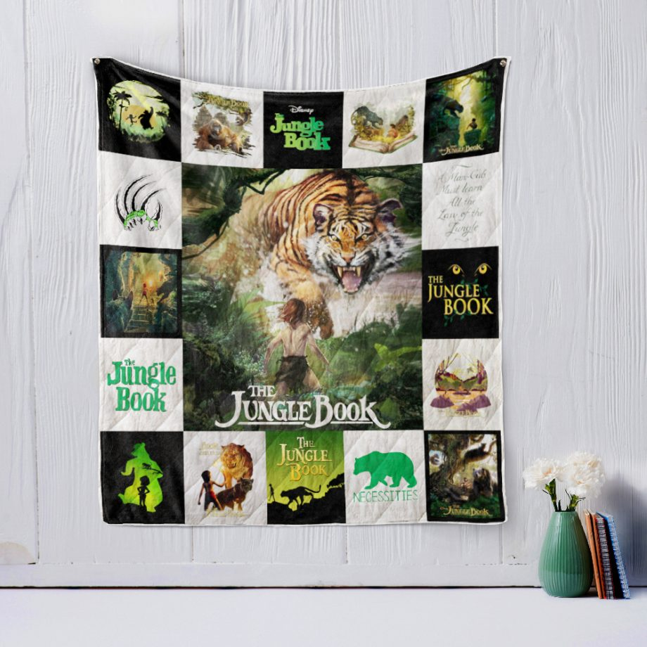 KPWE JUNGLE BOOK (2016) Style 2 Quilt Blanket